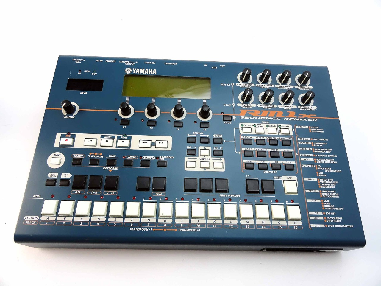 matrixsynth yamaha rm1x sequencer synth drum machine. Black Bedroom Furniture Sets. Home Design Ideas