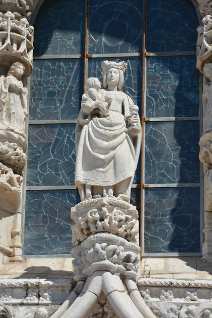 Jeronimos Monastery Lisbon Our Lady