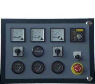 melayani service kontrol genset