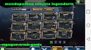 cara jitu mendapatkan senjata legendaris di crisis action