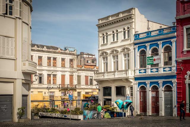 Edifício eclético na Rua José Bonifácio, 135 em Curitiba
