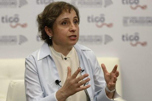 Las telenovelas son basura, solo sirven para manipular a las personas: Carmen Aristegui
