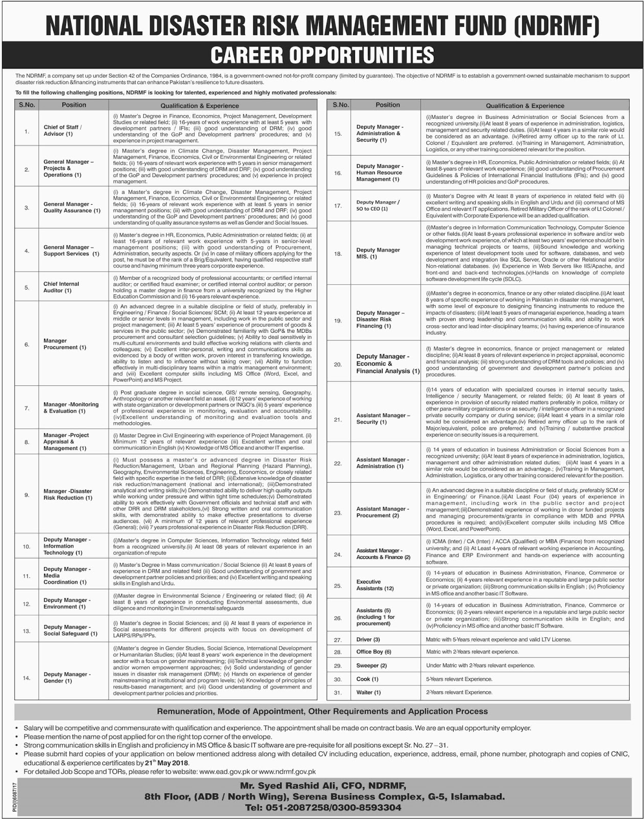 latest-may-jobs-2018-in-national-disaster-risk-management-fund-ndrmf