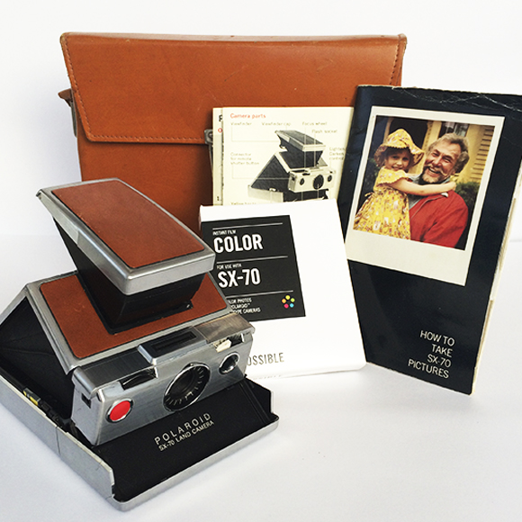 Polaroids para Colecionar: A estrela da coleção: Polaroid SX-70