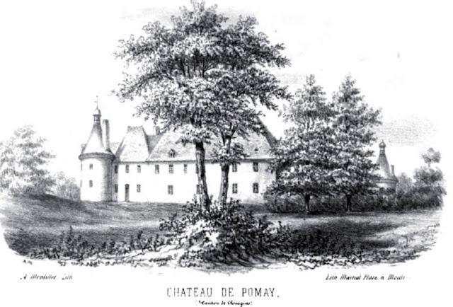 patrimoine de l'Allier château de Pomay