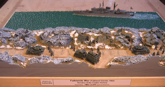 Falklands War Series by Carlos Briz