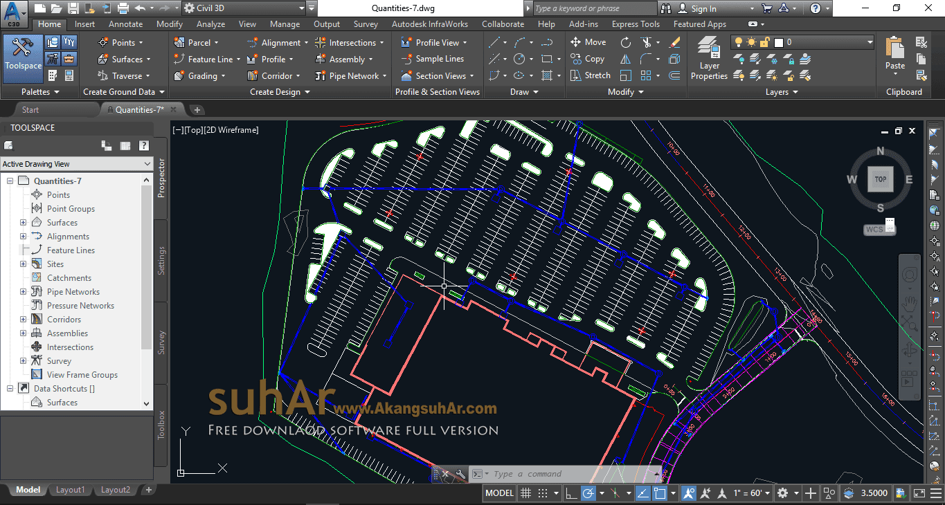 Free Download Autodesk AutoCad Civil 3D 2019 Full Crack