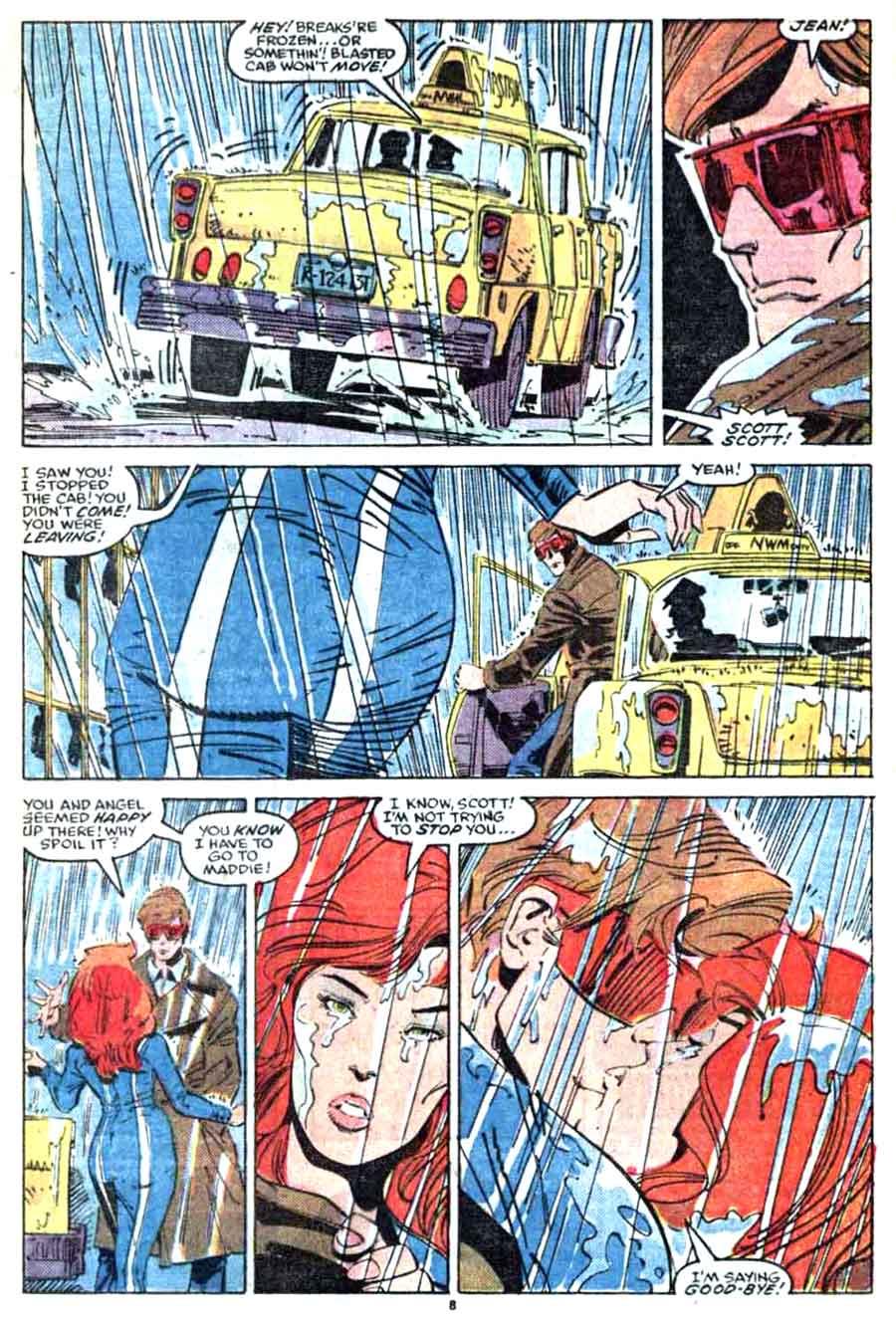 Walt Simonson jean grey marvel comic book page - X-Factor #13