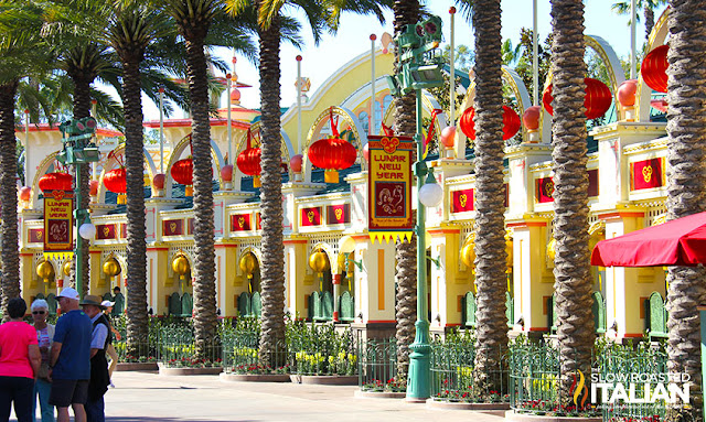 Lunar New Year Disneyland California Adventure
