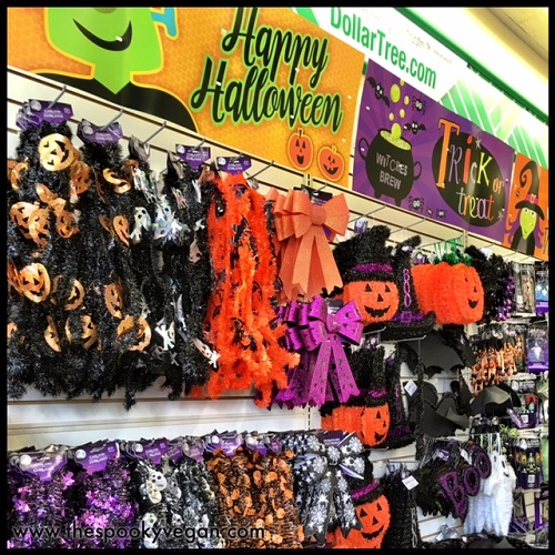 The Spooky Vegan Halloween 2016 at Dollar Tree ~ 222626_Halloween Decoration Ideas Dollar Tree