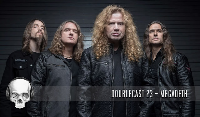 Doublecast podcast Megadeth, Kiko Loureiro, Dave Mustaine, Dystopia, Rust in Peace, Countdown to Extinction, Youthanasia