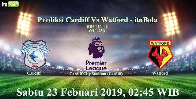 Prediksi Cardiff Vs Watford - ituBola