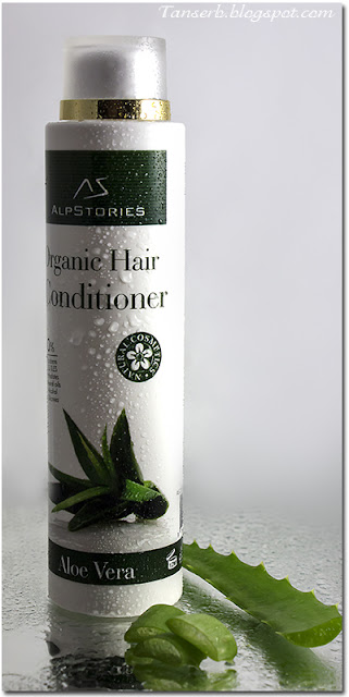 Органический бальзам AlpStories Organic Hair Conditioner Aloe Vera