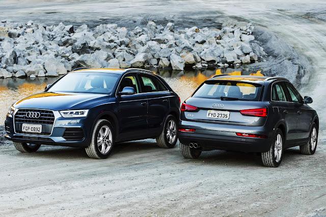 Novo Audi Q3 2016 visual