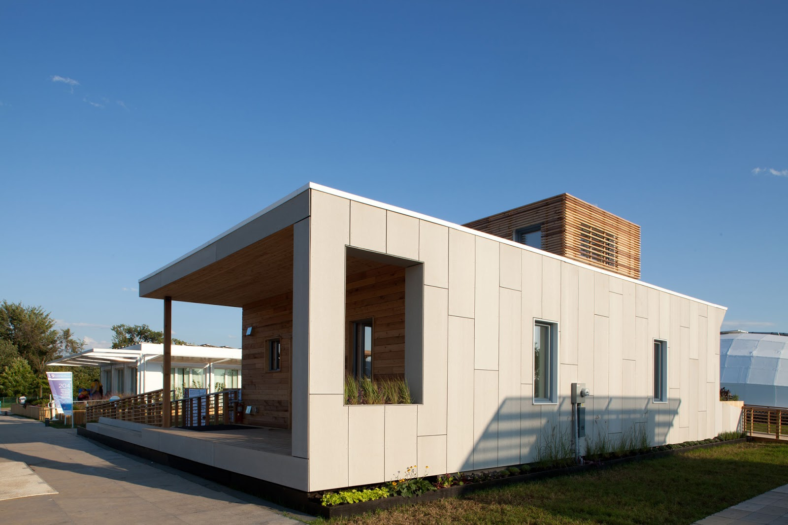 Less Energy Home Design EmPowerHouse By Parsons Modern Home   Home Design  Contest