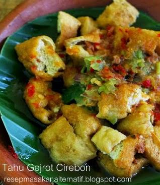 Resep Membuat Tahu Gejrot Pedas Cirebon