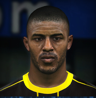 PES 2017 Faces Anthony Modeste by Jefferson_SF