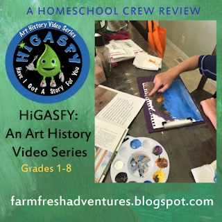 HiGASFY~ An Art History Video Series {Curriculum Review}