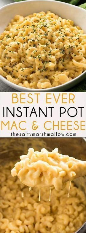 Instant Pot Mac and Cheese #maincourse #american #instantpot #mac #cheese