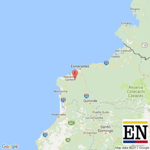 temblor esmeraldas ecuador