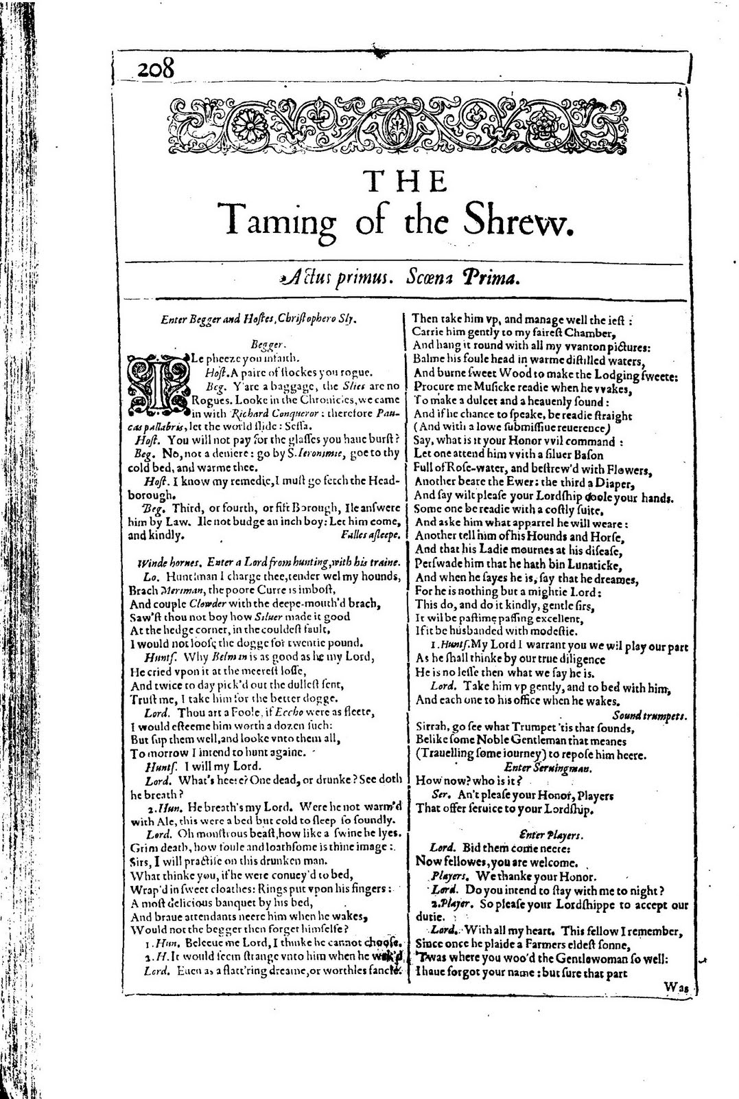 the taming of the shrew essay questions Taming of the shrew study guide  questions taming of