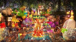 acara tahun baru 2017 di Jungleland Adventure Bogor