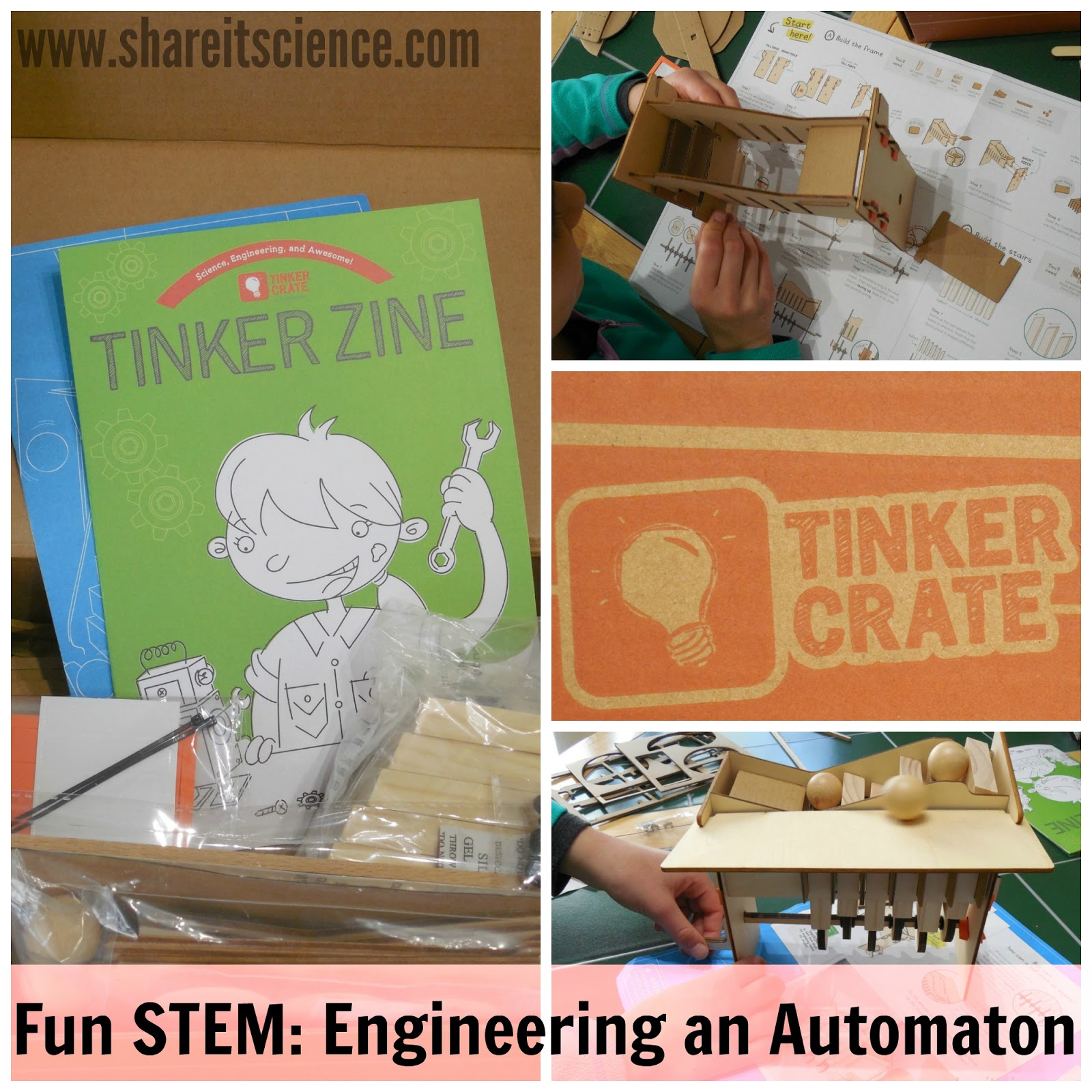 Share It Science Build Your Own Automaton Fun Stem
