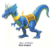 Blue Dragon Golden Axe