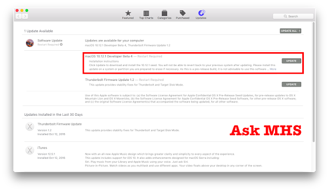How To Get macOS Sierra 10.12.x Developer Beta Without Developer Account