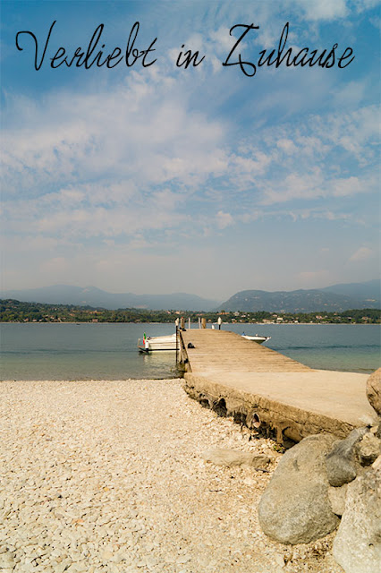"2in1 Photoday: Steg an der ""Isola di San Biagio in Monerba am Gardasee, Italien"