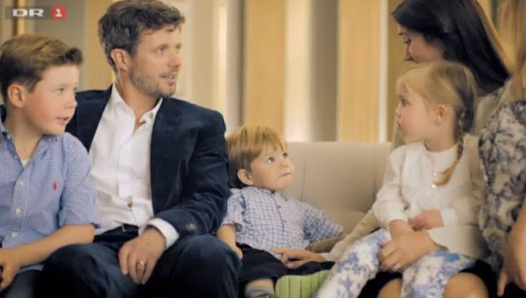 İnterview with Prince Frederik and Princess Mary of Denmark