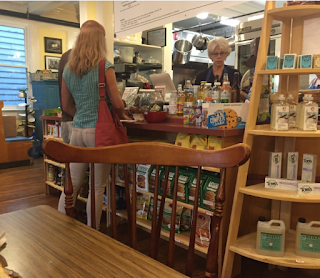 Lexington, Virginia, places to eat, organic, vegan, local grown, specialty, gluten free