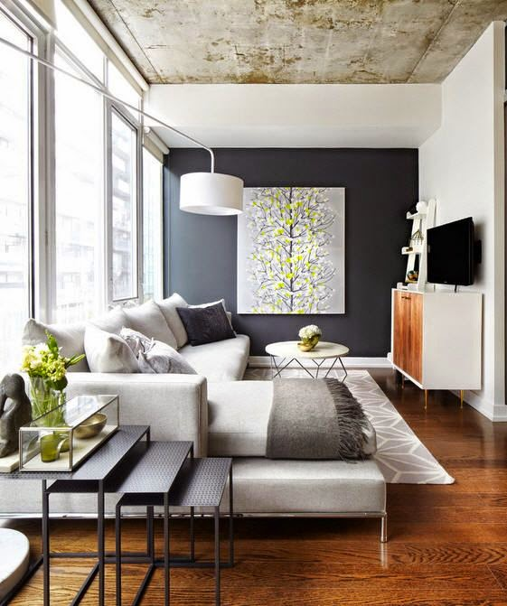50+ Ideas Decoration of Modern Small Rooms With Pictures 4