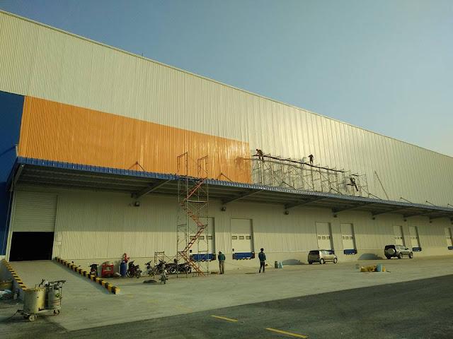 Dịch vụ bảo dưỡng | sửa chữa | chống dột | mái tôn nhà xưởng tại TpHCM