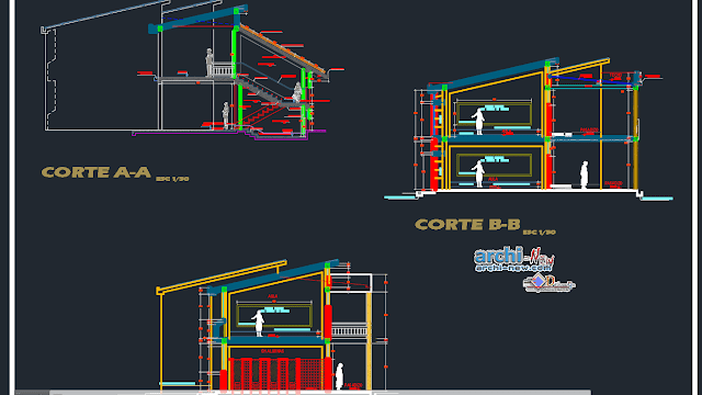 Architecture of Bibliocad library in AutoCAD