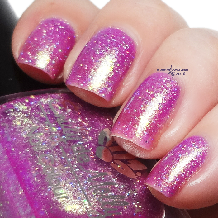 xoxoJen's swatch of Emily de Molly Showdown