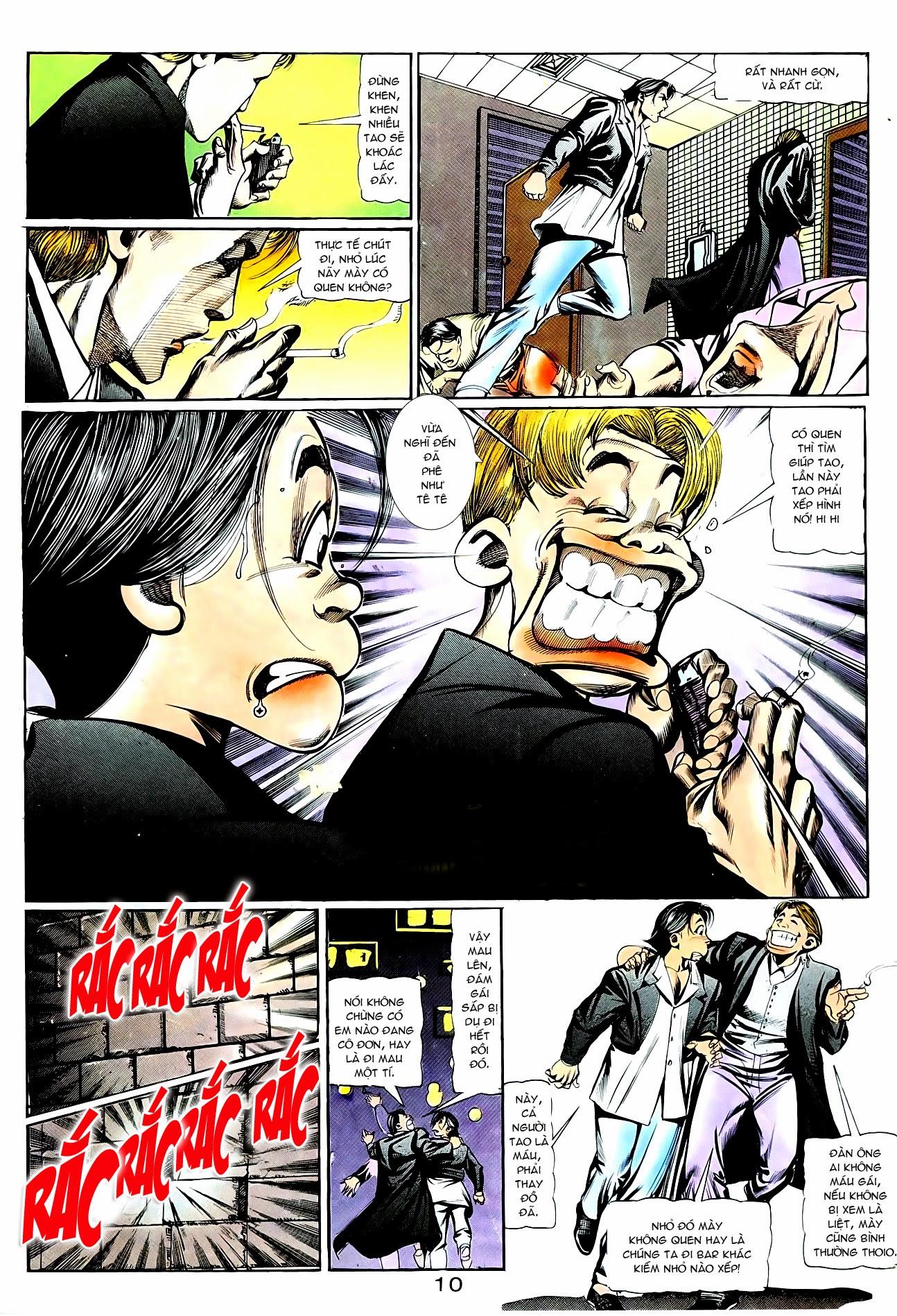 Người Trong Giang Hồ chapter 95: tình kiêu trang 21