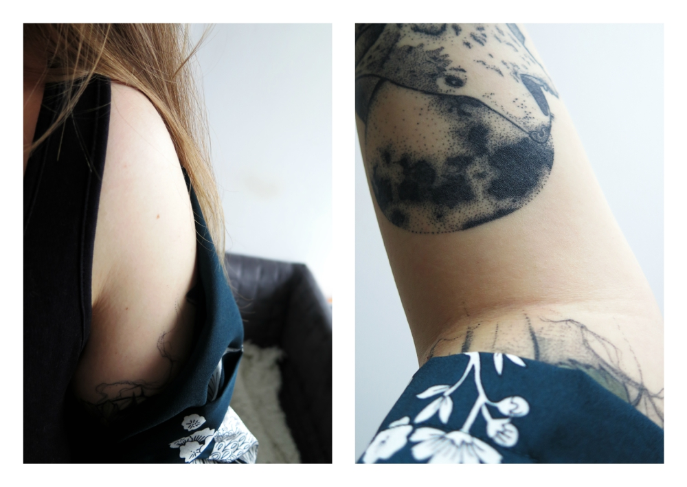 Tatuaże, rękaw