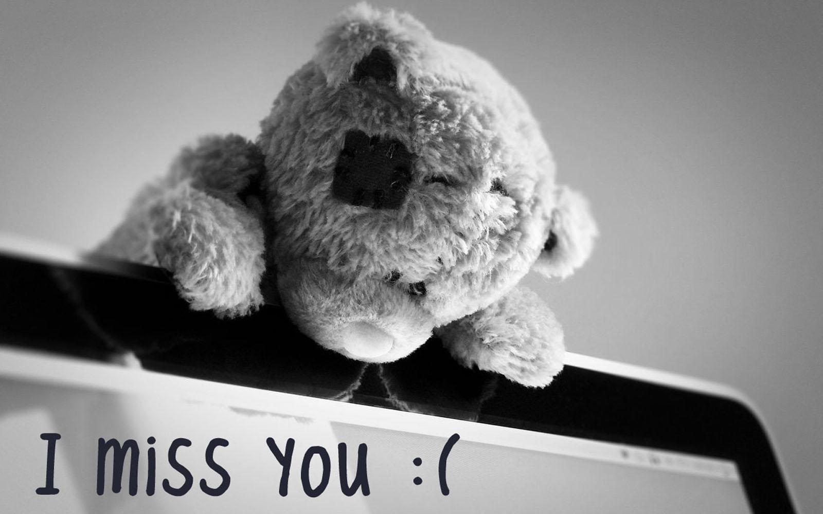 Gambar Tulisan I miss You | Wallpapersforfree