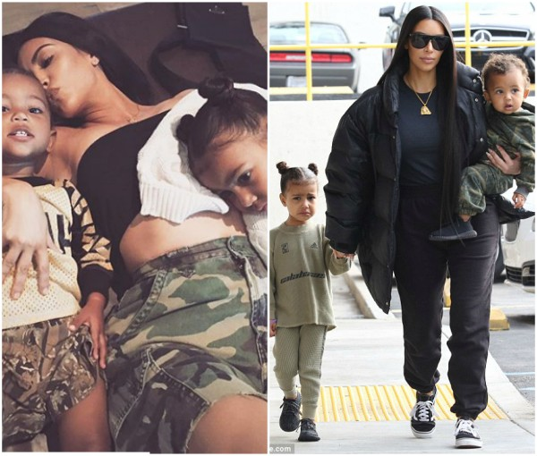 Kim Kardashian says North West doesn't like her brother Saint