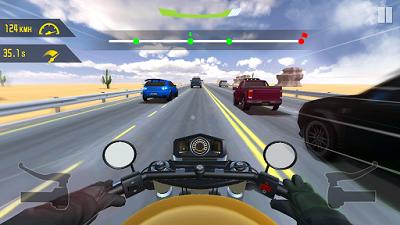 pada kesempatan kali ini admin akan membagikan sebuah game mod apk terbaru yang bergenre  Highway Motor Rider v1.1.0 Mod Apk (Unlimited Gold)