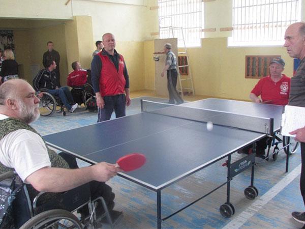 Соревновались инвалиды-колясочники Сергиев Посад