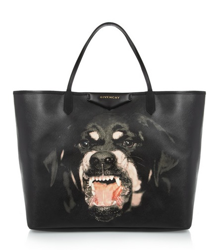 Would you carry Givenchy's £500 'doggie' bag?