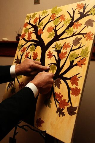 firmas invitados bodas otoño