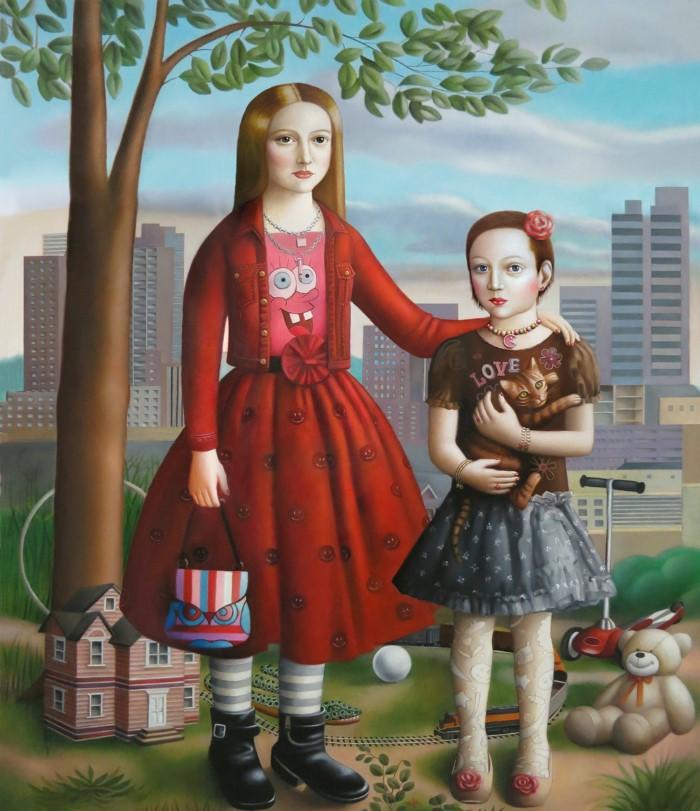 Обновления работ эпохи Возрождения. Amy Hill