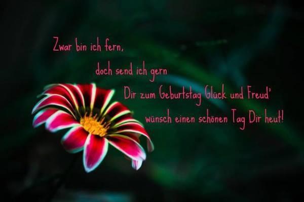 Geburtstag Glück und Freud