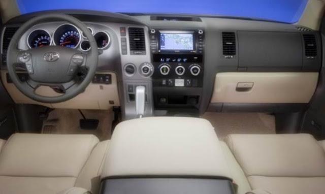 2018 Toyota Sequoia Platinum Specs