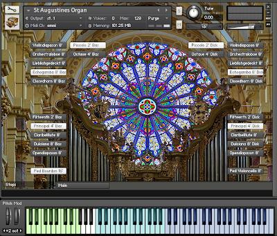 St. Augustine's Organ instrument kontakt