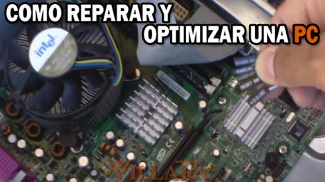 Villatec optimizar pc como puedo reparar y optimizar mi pc - Como reparar una vitroceramica ...