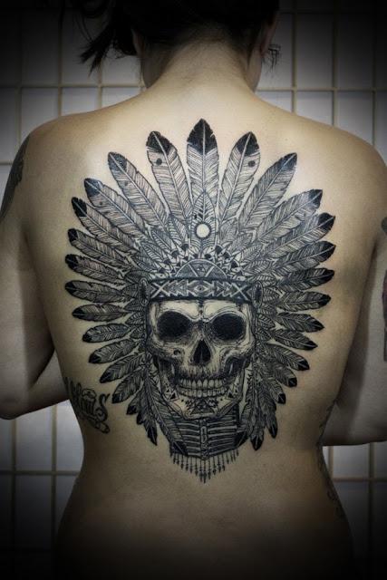 tatuajes para mujeres en la espalda aves